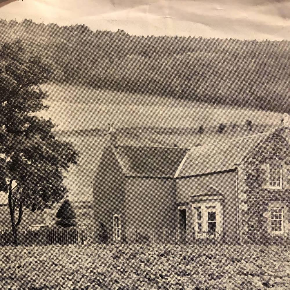 old logie farm house
